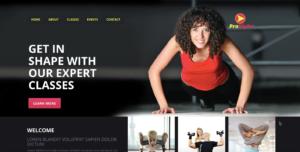 Fitness Website | HFD Solutions